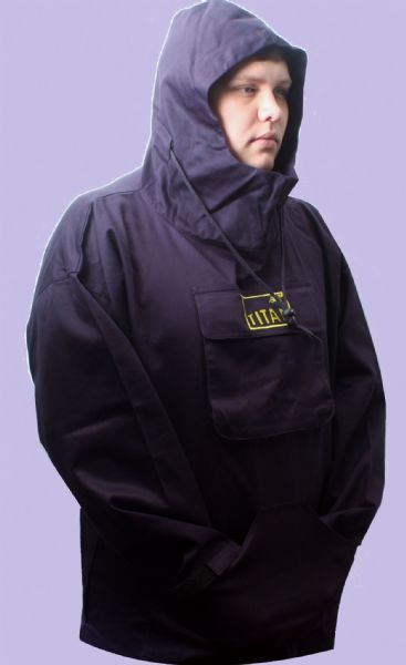 NEW SLIGHT SECOND  TITAN ™ Original Cotton Fishing Hoodie Smock